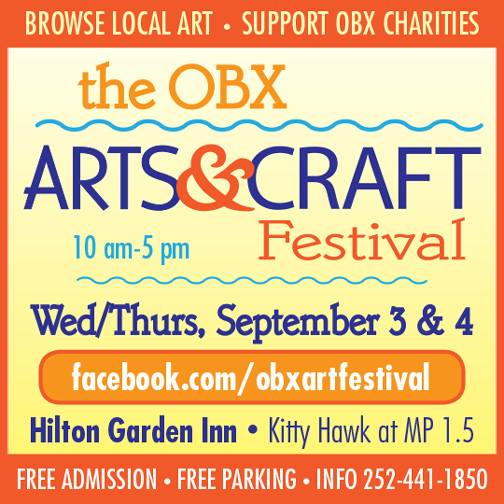 OBX Arts & Craft Festival (September 3 & 4)