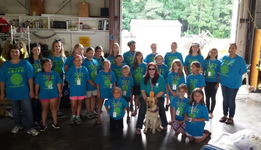 Education Inspires Girl Scouts