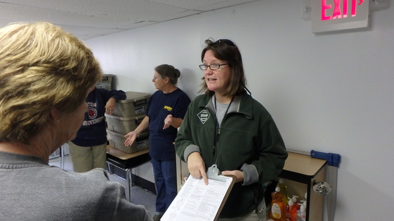 Karen Clark reviews stranding report