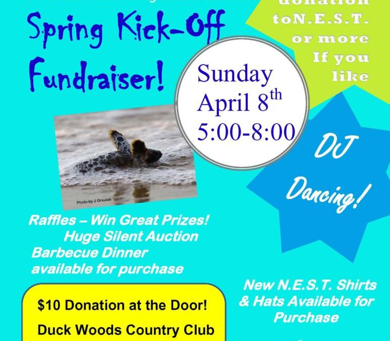 Join us on April 8th for the Annual N.E.S.T. fundraiser!