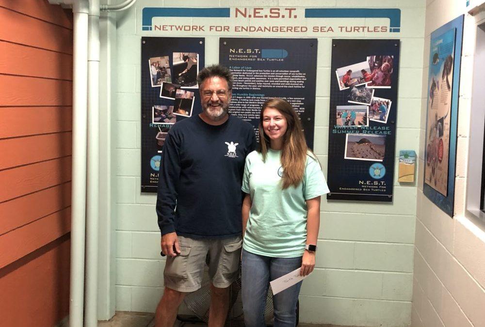 Young entrepreneur donates profits to N.E.S.T.