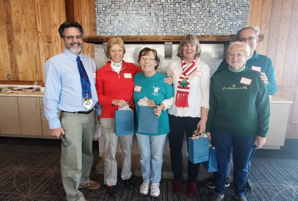 N.E.S.T. volunteers honored at the N.E.S.T. annual meeting